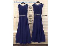 Coast maxi dress bridesmaid dresses