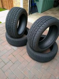 225/45/17 Nankang winter tyres.