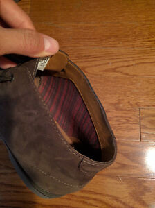 NEW IN BOX - Clark's Brown Suede Leather Boots (Paid $120) London Ontario image 9