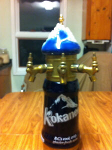 Kokanee on tap decanter for the bar