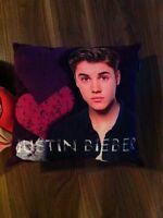 Justin Bieber pillow