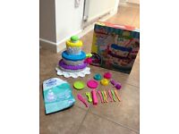 Play Doh Perfect Cake mountain