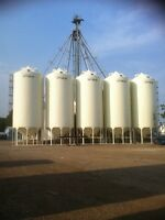 OPTIMUM SMOOTH WALL HOPPER GRAIN BINS
