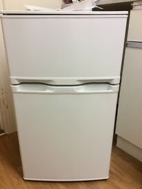 Small fridge freezer (under counter), 1 year old
