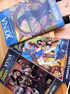 XENA & Army of Darkness Graphic Novels