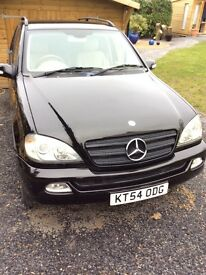Mercedes ML270 CDI 2004 - Automatic (54 plate)
