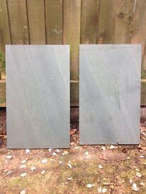 Slate/stone slabs