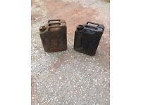 20lt Jerry Can x2