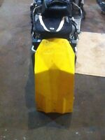 Full belly pan for xp style sled.  600, 800. Will not fit 1200