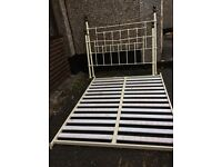 Shabby Chic ( Victorian bed frame & base )