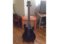 PRS SE Billy Martin electric guitar - terrific guitar