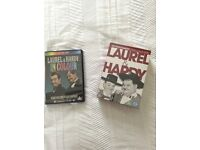 Laurel and Hardy DVD selection