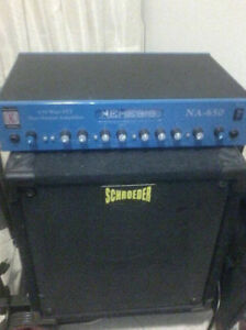 Speaker cabinet for bass by Schroeder