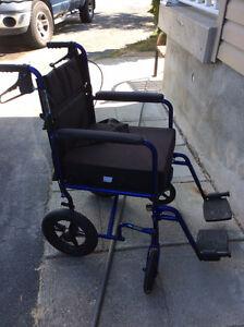 Invacare transport wheelchair