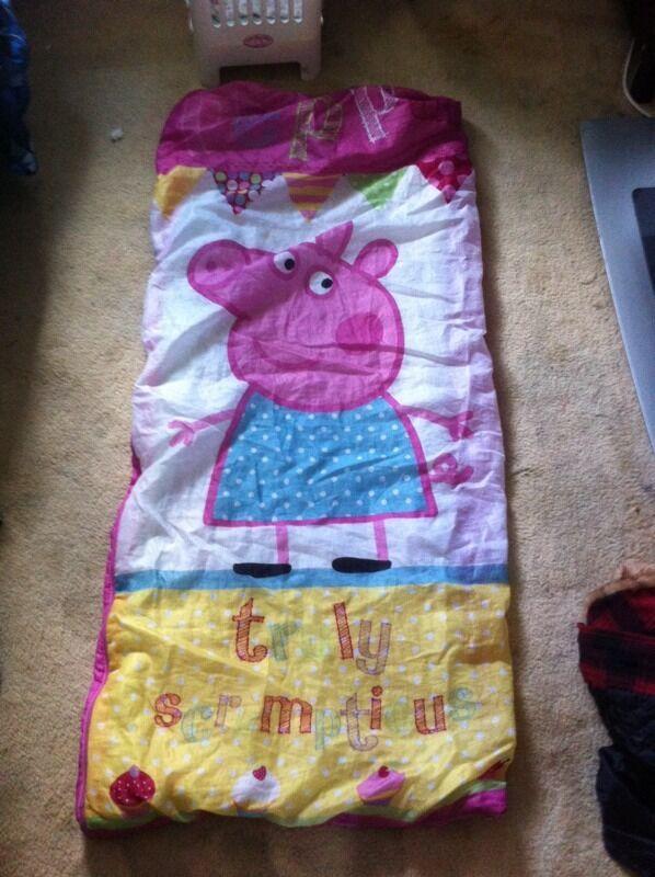 Peppa pig sleeping bag | United Kingdom | Gumtree