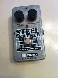ELECTRO HARMONIX NANO STEEL LEATHER bass extender