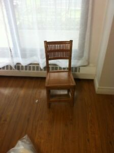 Childs Chinese Bamboo Chair - 50 years old