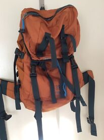 Karrimor orange rucksack Ridge