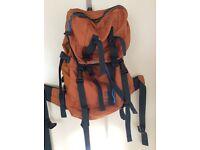 Karrimor orange rucksack Ridge