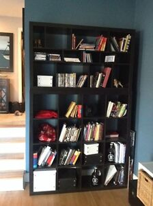 IKEA Cube Shelves - KALLAX Black-Brown
