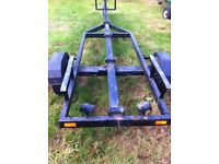 Boat trailer take up to 19ft