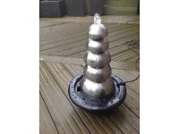 Stainless steel 5 dome water feature