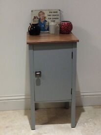 Small cupboard painted in farrow & ball