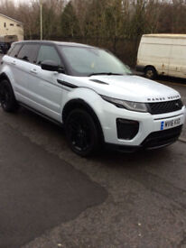 LAND ROVER RANGE ROVER EVOQUE HSE DYNAMIC TD4 AUTOMATIC 4X4 15,000 MILES FDSH 16