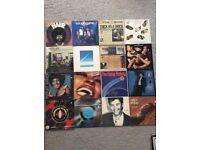 Viinyl records, including David Bowie, queen, Rock, Pop, joblot