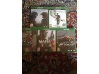 Xbox one 500gb Kinect plus 5 games £250 bargin