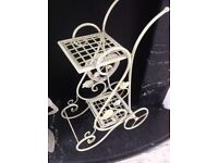 Shabby chic plant stand