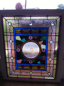 1880's Stained Glass Windo
