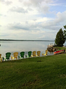 FAMILY FISHING VACATION COTTAGE CALABOGIE LAKE ONTARIO CANADA