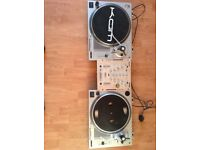 KAM DDX 750 Turntables with mixer