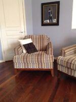 Beau fauteuil de qualité en bonne condition