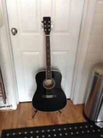Hudson full size acoustic guitar