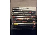 Psp and PlayStation3 games