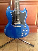 Sell/Trade, Gibson SG, Special Edition Blue, Early 90's, Rare