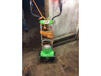 Florabest 240 volt small tiller