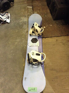 SNOWBOARD BEYOND with bindings $40! SNOWBOARD SALE!