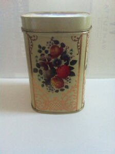 Vintage Metal Tea Container