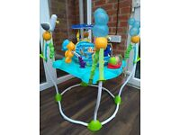 Baby activity center/bouncer bright stars