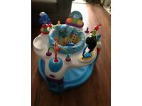 Baby bouncer toy