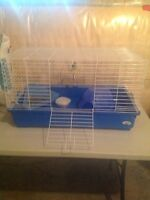 Small pet cage and all required supplies
