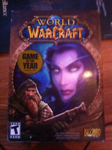 WORLD WARCRAFT COMPUTER GAME 5 DISC LIKE NEW