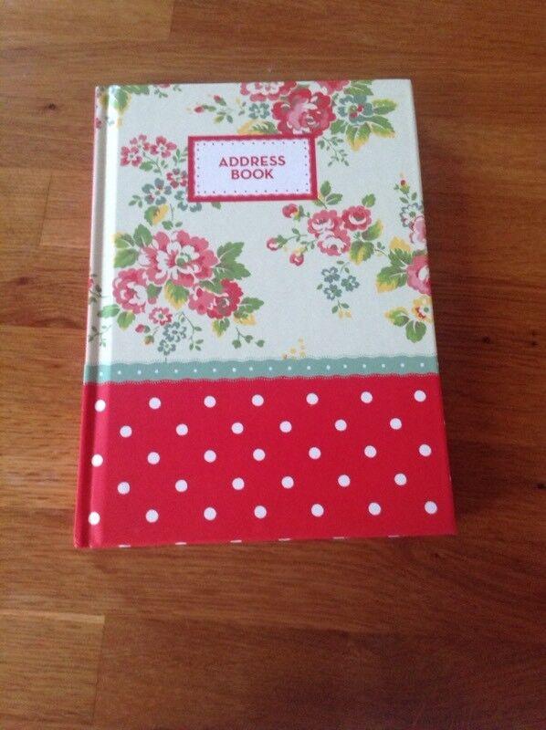 Cath Kidston Address Book