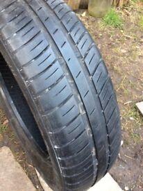 Goodyear Tyre 155 65 r14 Peugeot 107 etc £10