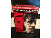 Rocky DVD boxed set