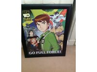 Ben10 picture in a frame