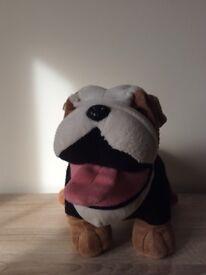 Official merchandise MINI British Bull Dog soft toy